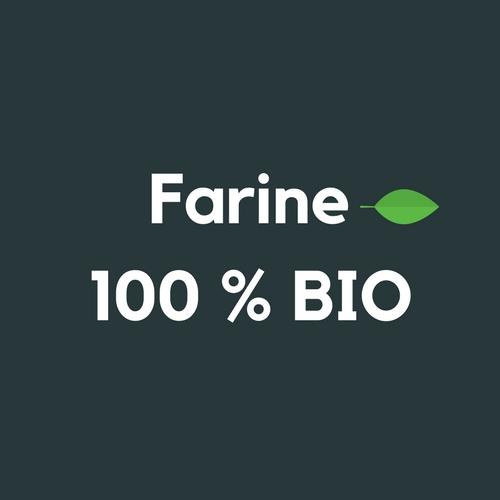 Farine 100% BIO